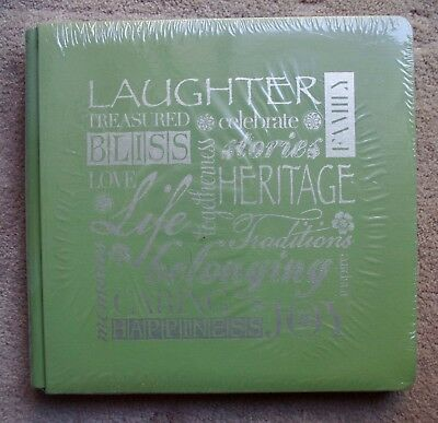 Creative Memories Lime Green True 12x12 Laughter Heritage Album Coverset BNIP