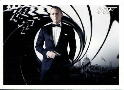 James Bond Autographs & Relics Complete 110 Card Skyfall Silver Parallel Set