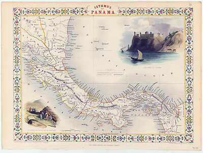 A Map of the Isthmus of Panama