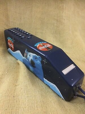 Coca-Cola Blue Slimline Phone.Collectible No Box