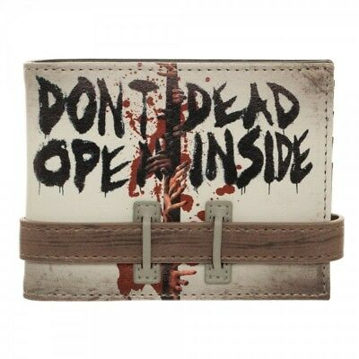 The Walking Dead Dont'n open Dead Inside BI-Fold Wallet