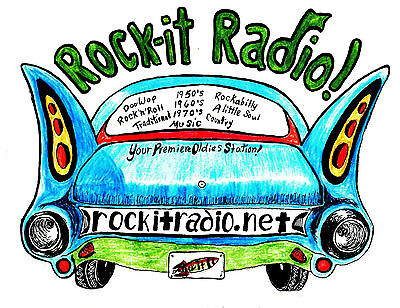 Rock-it Radio shows #6051 to #6100 on flashdrive mp3 = 70 hours of oldies Rock.