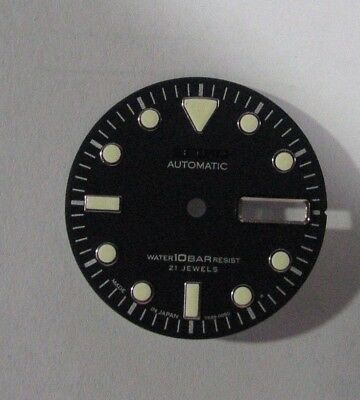 Dial & Hands Set New made for  SEIKO Diver 7s26-0050  Automatic
