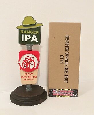 "New Belgium Ranger IPA Beer Tap Handle 8"" Tall - Brand New In Box!!"