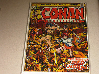 Conan the Barbarian #24 1st Red Sonja