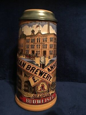 Anhueser-Busch Classic Collection 1990 Stein with Box