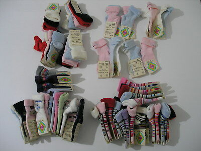 15 Pairs of MP BABY Socks  + MORE MIXED STRIPED & CHARACTERS  (MADE IN DENMARK)