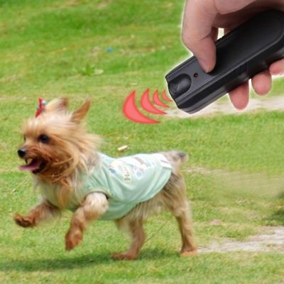 Ultrasonic Aggressive Dog Pet Repeller Training Stop Anti Barking Device Safe