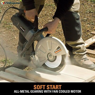 Concrete Cutter Tool Electric 12-Inch Disc Saw Cutting Construction Equipment