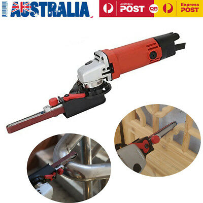 Electric Angle Grinder Tool DIY Sander Sanding Belt Adapter M10 For 100mm 4'' AU