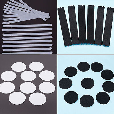 Anti Slip Strips Stickers Bath Shower Stair Safety Non Slip Pads Clear / Black