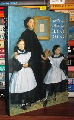 Tinterow, Gary THE PRIVATE COLLECTION OF EDGAR DEGAS 1st Edition 1st Printing