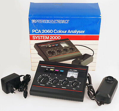 Paterson System 2000 PCA 2060 Color Analyser Farbdichtemessgerät 09158