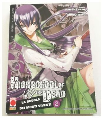 Highschool Of The Dead La Scuola Dei Morti Viventi 2 Planet Manga Prima Edizione