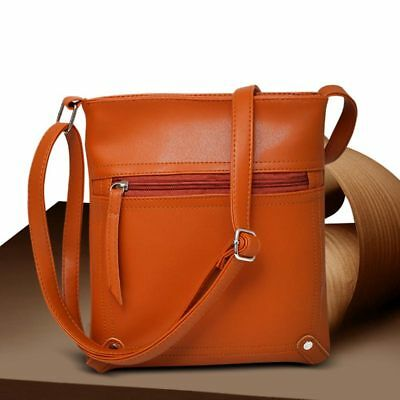 Women Messenger Bucket Bag PU Leather Crossbody Shoulder Bags