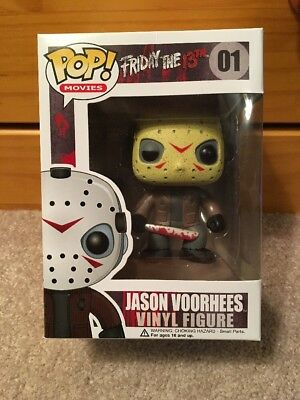 Funko Pop! Movies Friday The 13th JASON VOORHEES #01 ~ Fast Shipping!