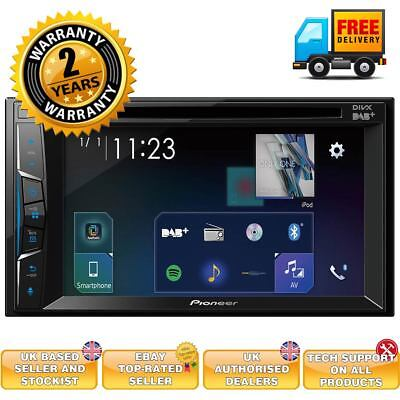 Pioneer AVH-A3100DAB Pioneer double din Apple and android compatible DAB