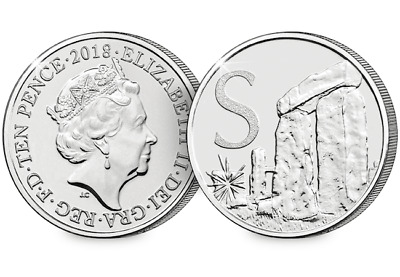 2018 UK Stonehenge EARLY STRIKE 10p [Ref 876U]