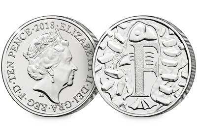 2018 UK Fish and Chips EARLY STRIKE 10p [Ref 355T]