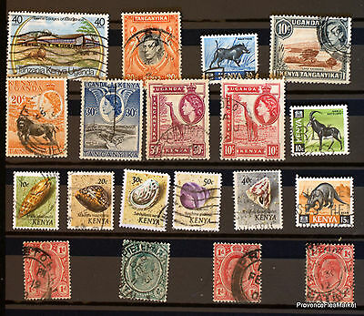 Kenya Set Of Stamps Obliterated Not Tries See Photo 82M41