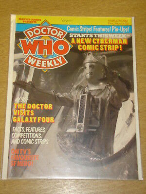 Doctor Who #23 1980 Mar 19 British Weekly Monthly Magazine Dr Who Dalek Cybermen