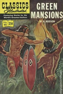 Classics Illustrated 090 Green Mansions #6 1969 VG+ 4.5 Stock Image Low Grade