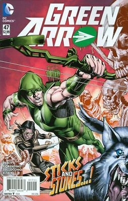 Green Arrow (4th Series) #47A 2016 NM Stock Image