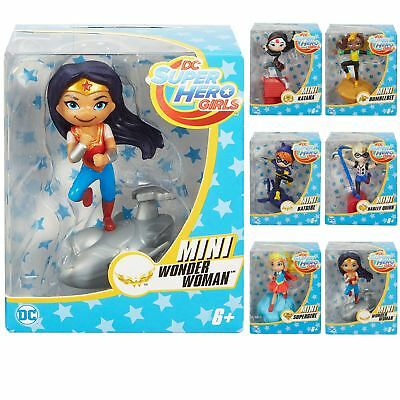 Mini DC Super Hero Girls Action Figures Collectible Superheroes Play Toy 8cm