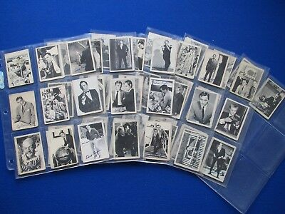 A&BC - The Man From UNCLE  Bubblegum Cards * Choose The One's You Need *  1965