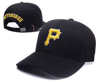 Pittsburgh Pirates Baseball MLB Unisex Hat Cap Black & Yellow Insignia AU Stock