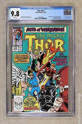 Thor (1st Series Journey Into Mystery) #412 1989 CGC 9.8 1248992019