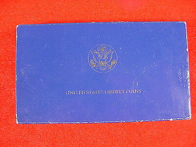 1886-1986 United States Liberty Proof Coins Silver Dollar With Box & COA Cameo