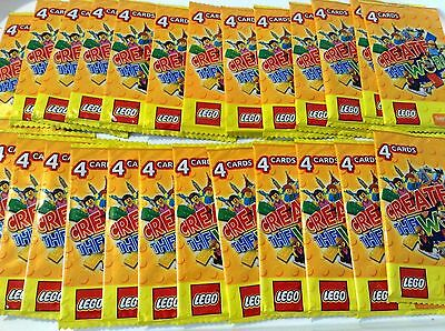 10 x Lego World Cards , Party Bag Fillers Birthday party favours, games