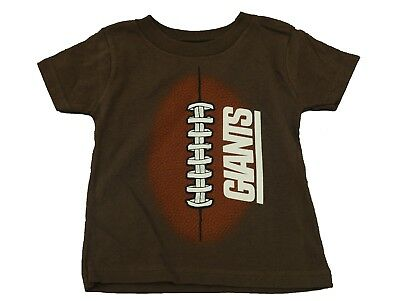 New York Giants NFL Team Apparel Official Toddler Infant T-shirt New No Tags c99e04e38