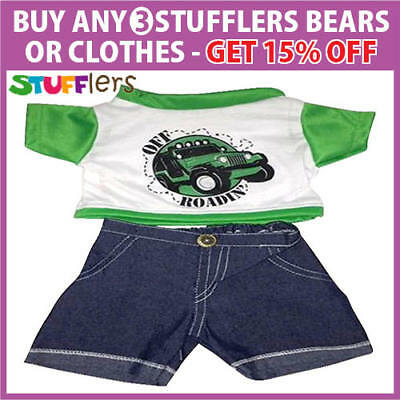 Off Road Clothing Outfit by Stufflers – Will fit on a Build a bear