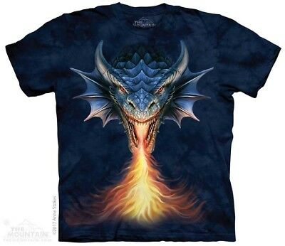 New The Mountain Fire Breather Dragon T Shirt