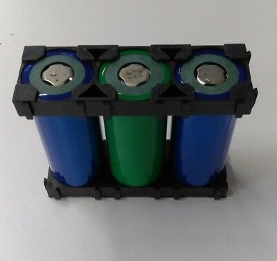 PLASTIC DIY LITHIUM Battery Box Battery Holder Suitable for 3 x