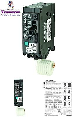 Arc Fault Detectors AFCI Circuit Breaker 15 Amp Single Pole 120 Volt PlugOn Type