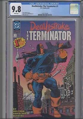 Deathstroke: the Terminator #1 CGC 9.8 DC 1991 Comic : NEW Frame