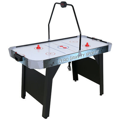 4.5 ft Junior Kid Electric Air Hockey Table with Scored Counter Pushers Gift