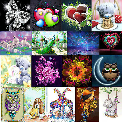 5D DIY Crystal Butterfly Diamond Painting Embroidery Cross Stitch Art Handicraft