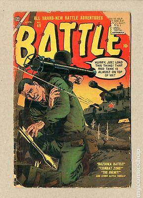 Battle (Atlas) #49 1956 FR/GD 1.5