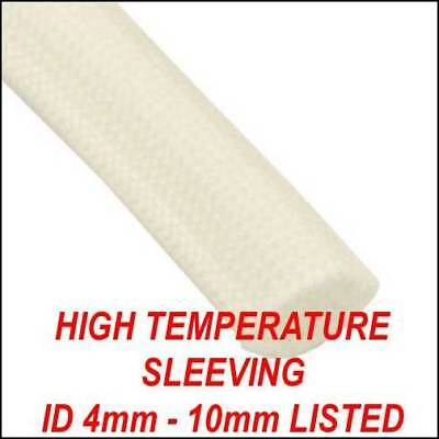 *£1.20 PER METRE* 10m of 1.5mm HEAT RESISTANT SILICONE GLASS FIBRE CABLE WIRE
