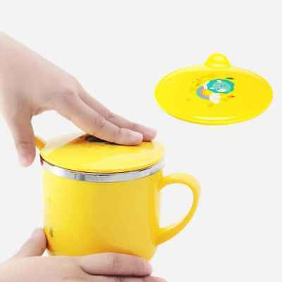 Infant Baby Feeding Water Cup with Handle Children Baby Kids Tea Cup Gifts 200ml