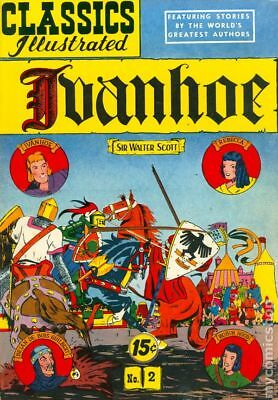 Classics Illustrated 002 Ivanhoe #11 1964 GD/VG 3.0 Stock Image Low Grade