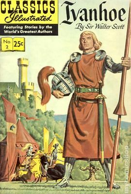Classics Illustrated 002 Ivanhoe #24 1969 VG 4.0 Stock Image Low Grade