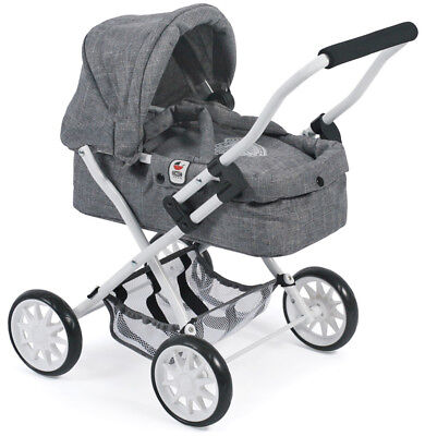 Bayer Chic 2000 Mein erster Puppenwagen Smarty (Jeans Grey)