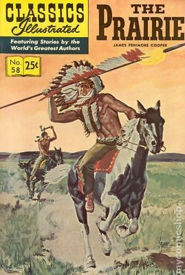Classics Illustrated 058 The Prairie #11 1969 VG Stock Image Low Grade