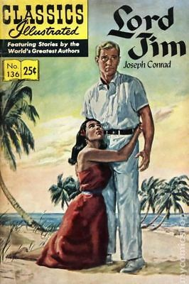 Classics Illustrated 136 Lord Jim #5 1969 VG+ 4.5 Stock Image Low Grade
