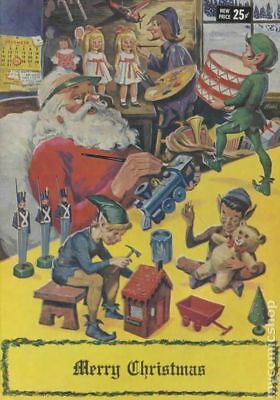Classics Illustrated Christmas (Giveaway) 1969D Merry Christmas Variant FN+ 6.5